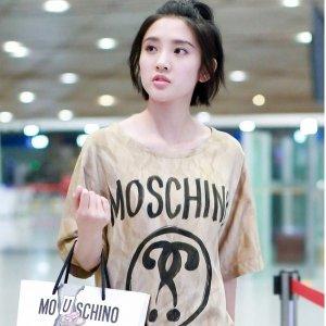 低至2.5折+减$25 $100收刺绣TeeMoschino 精选男女时装大促 $175收logo 短袖