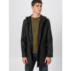 黑色防水雨衣