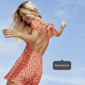 3折起+全场8折 €9收半身裙Stradivarius 少女美衣大促 收夏季清爽BM短袖、小裙子等