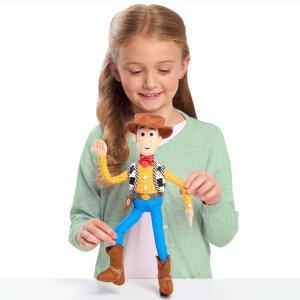 Walmart Toy Story 4 Bendable Plush -Woody
