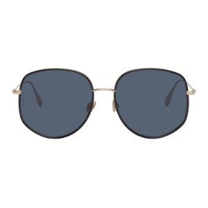 Dior金色太阳镜