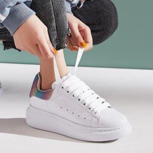 7折 €315收小白鞋Alexander Mcqueen 近期最好价 最全配色等你入 断码飞快
