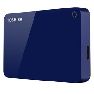 Toshiba Canvio Advance 4TB 移动硬盘 蓝色