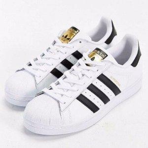 $35.00起adidas Originals Superstar 经典金标 大童休闲鞋
