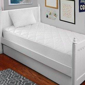 $15.57 (原价$33.99)Mainstays 开学床品鸭绒枕头、床垫加厚垫特惠组合