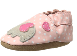 Robeez Girls' Soft Soles, Traditional Silhouette