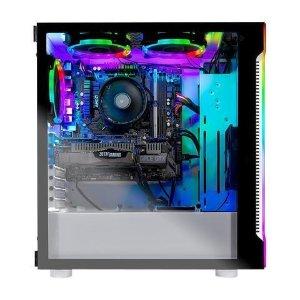 送 使命召唤:现代战争Skytech Archangel 游戏台式电脑 (2600X, 2060, 8GB, 500GB)