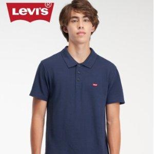 $28.69起(国内售价¥399)Levis 男款纯棉Polo衫 精致小logo 一件实现多风格搭配