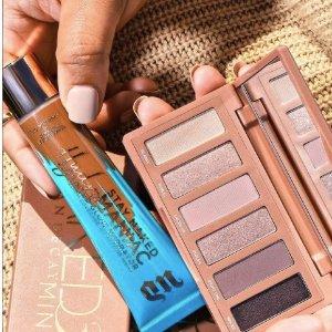 低至4.8折 仅€10收口红!Urban Decay彩妆热促 好价收经典眼影盘 定妆喷雾 打造完美妆容!