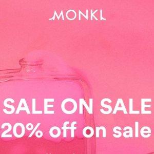 低至3折+额外8折 £4起收印花T恤折扣升级:Monki 精选夏日美衣大促折上折 超多配色T恤 半身裙收一波