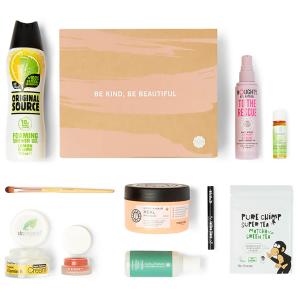 仅限一天!独家优惠价£20(价值£80)GlossyBox 纯素化妆品礼包盒热卖 感受纯自然配方