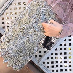 蕾丝半身裙a字裙钉珠时尚气质包臀裙子