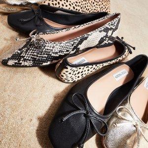 低至6折 芭蕾鞋$35起限今天:Steve Madden & Clarks 美鞋专场 穆勒鞋$29