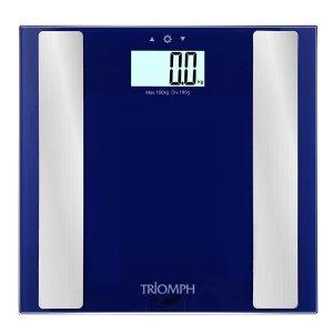 $17.29 (原价$49.99)Triomph 高精度电子体重秤/体脂秤 - 2色可选 + 赠$13.99手机臂套