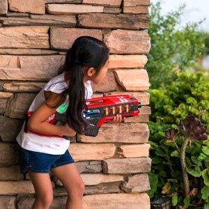 $49.99+包邮 全家可以一起玩儿童手持镭射激光玩具枪4把套装优惠