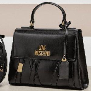 低至6.8折+额外7.4折Love Moschino 大牌副线包包热卖 €49收简约钱包