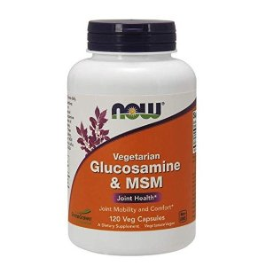 $9.49NOW Supplements, Glucosamine & MSM Vegetarian , 120 Veg Capsules