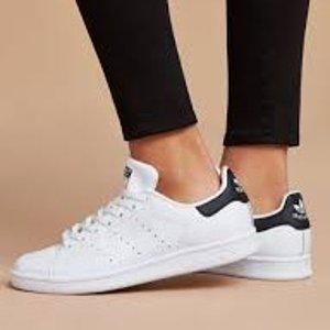 低至5折+立享额外6折+直邮中国最后一天:手慢无 adidas StanSmith  ¥350收女款小黑尾