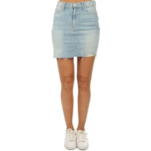 MotherThe Sacred Mini Fray Skirt