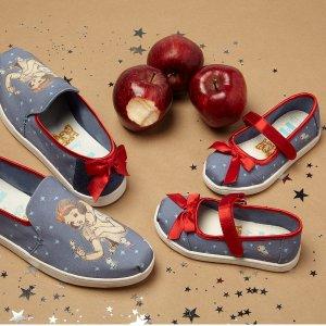 Toms迪士尼合作款 豆豆鞋