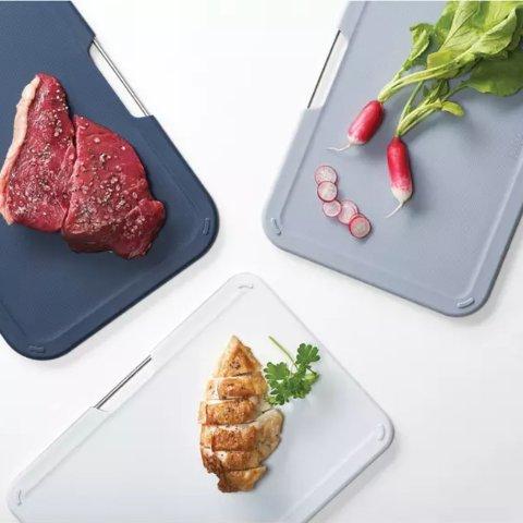 低至6.1折 经典彩虹砧板仅€39Joseph Joseph 英国创意厨具 彩虹系列都有货 各种厨房小工具