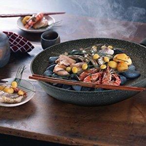 $19.99史低价:TECHEF 韩国制造 12寸陶瓷颗粒不粘平底锅