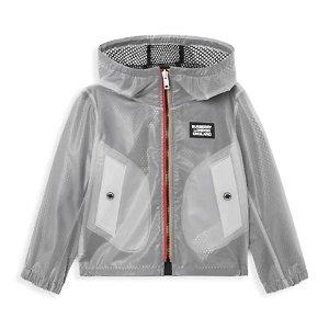 Burberry男童防雨外套