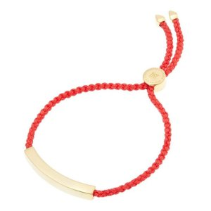 Monica VinaderGold-Plated Coral Cord Linear Friendship Bracelet