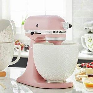 $299(原价$399.99) 4.5夸脱手慢无:KitchenAid Artisan 名厨系列 多功能厨师机 2种容量可选