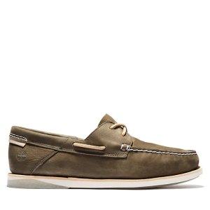 Timberland皮质休闲鞋