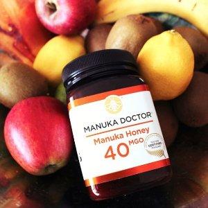 3折 £15.99收500g 40MGOManuka Doctor 精选秋冬养胃麦努卡蜂蜜热卖
