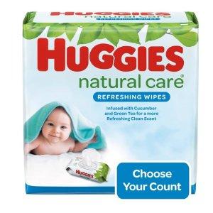 Huggies婴儿湿巾3包共168片