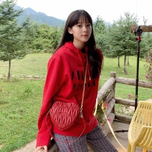 Armani Exchange欧阳娜娜同款卫衣