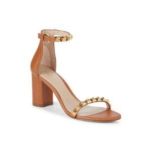 Stuart WeitzmanRosemarie Studded Leather Sandals