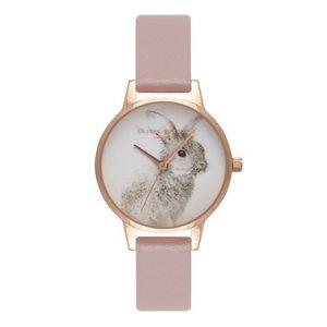 Olivia Burton小兔子浮雕手表 仅剩5块