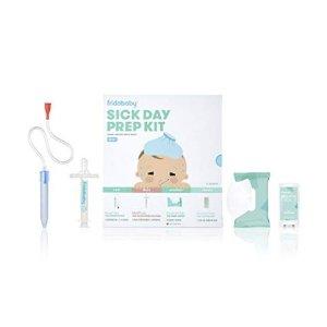 $34.99FridaBaby 宝宝家用诊疗包套装,吸鼻器、喂药器都有