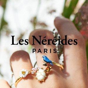 1折起+满减 £10收法式项链LES NÉRÉIDES 法国精致少女首饰品牌罕见超值折扣!