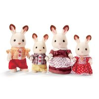 Calico critters Hopscotch 可爱兔兔一家人