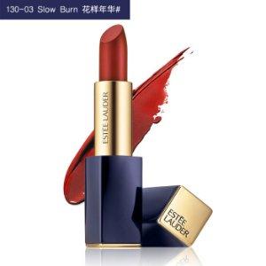 满减€25+包税直邮中国¥159收雅诗兰黛 倾慕晶彩唇膏130   秋冬最美铁锈红