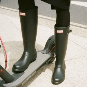 一律$90+包邮免税独家:Hunter 经典雨靴特卖 收经典长靴