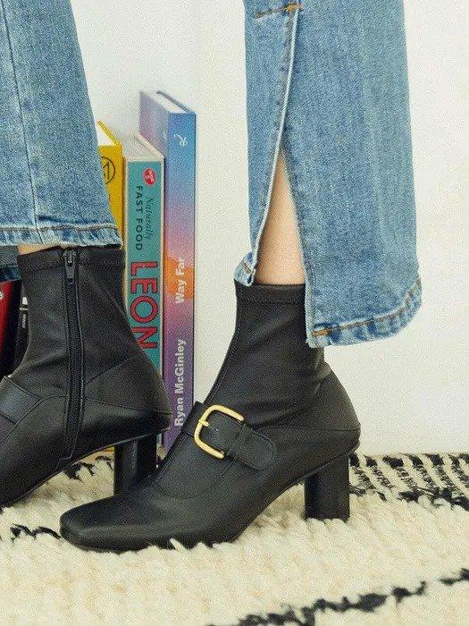 Mary-Jane 踝靴