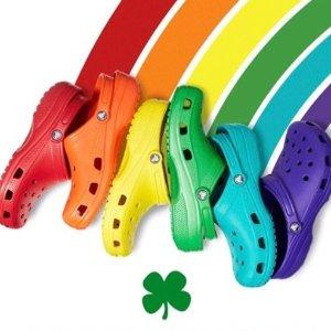 $14.71 收封面洞洞鞋限今天:Crocs 儿童洞洞大作战 全场折上折