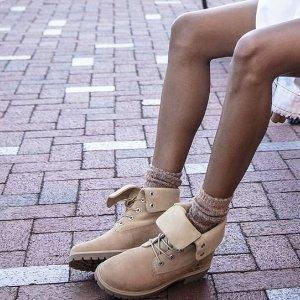折上8.3折 + 包税直邮中国Timberland 女鞋精选热卖  超性价比收一脚蹬