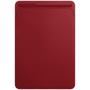 """Apple Leather Sleeve for iPad Pro 10.5"""" - (Product) RED"""