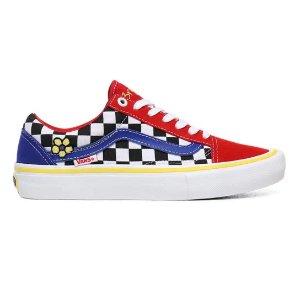 多色格子Old Skool 滑板鞋