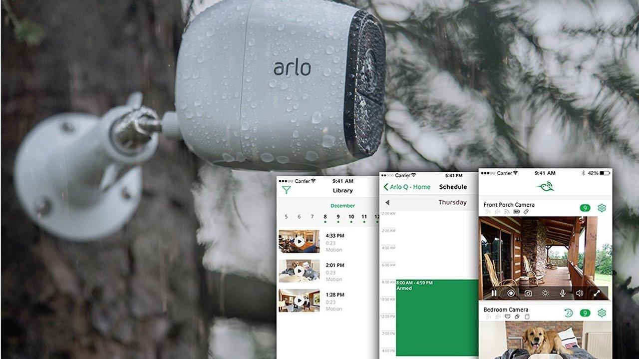 【搬进大house反而没了安全感?也许你需要的只是一款全能的监控摄像头 】ARLO PRO内外兼用24小时无线监控摄像头测评 (附真实监控视频)