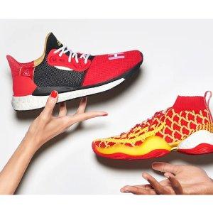 经典配色 联名热卖新春独家:中国年限定款 adidas Orignals X Pharrell Williams