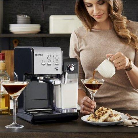 3.7折起 全场最高立减£250Breville、德龙咖啡机折扣升级 清早美味从咖啡香开启
