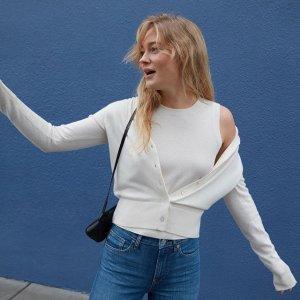 一律7.5折  晒单赢Dior新款口红Everlane 全场服饰热卖 纯棉T恤$13起