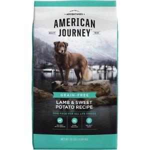 American JourneyLamb & Sweet Potato Recipe Grain-Free Dry Dog Food